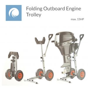 Folding Outboard Trolley 15HP