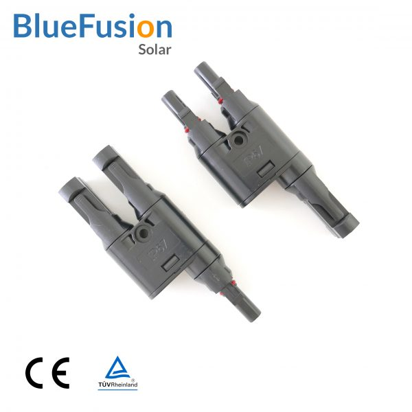 MC4 T-Branch Connector 2to1