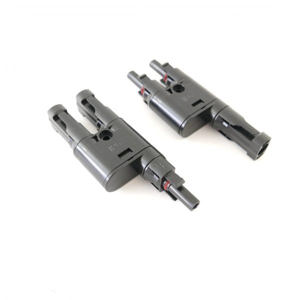 MC4 T-Branch Connector 2to1 alt