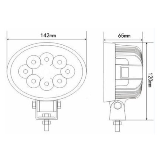MD1288 24W Worklight Technical