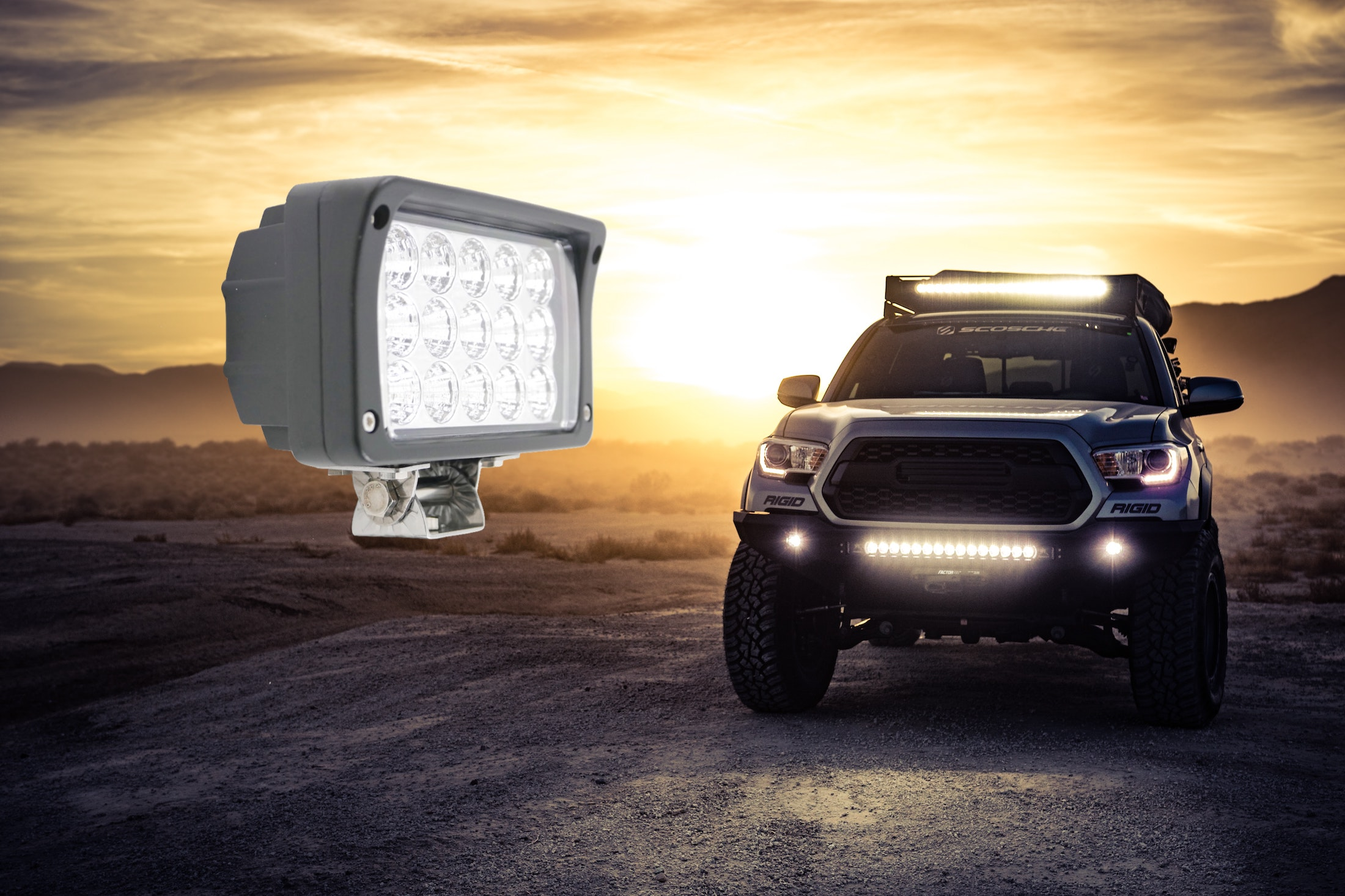 Marine and Off Road Spotlights
